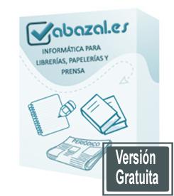 Programa gratis para librería, papelería y prensa de Abazal